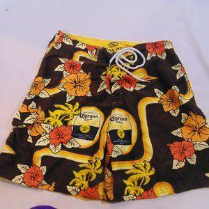 Corona Extra Board shorts size XL